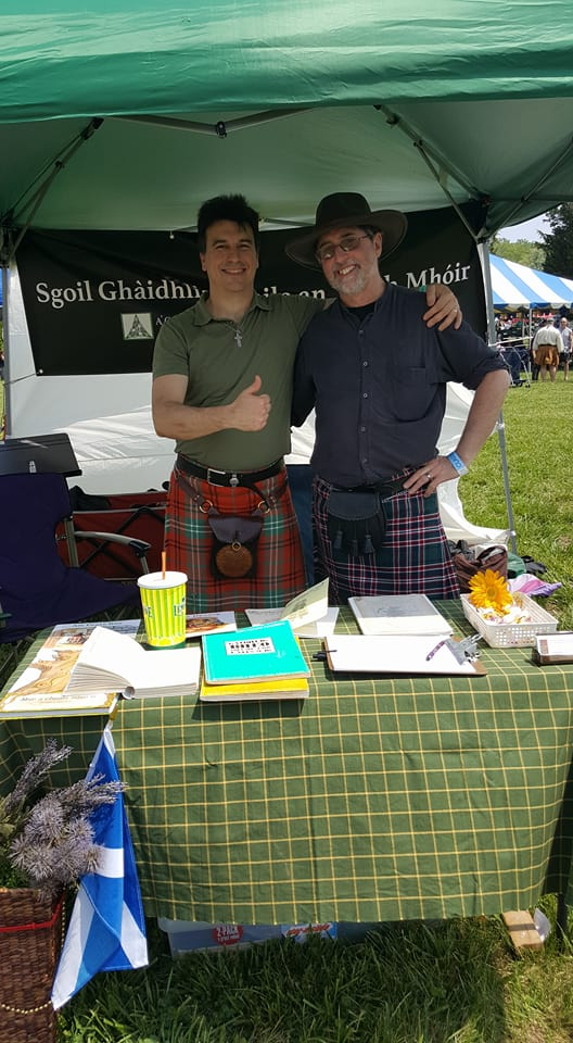Gaelic tent at Southern Maryland Centic Festival - 1