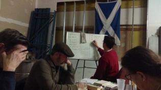 Gaelic class Dec. 2015