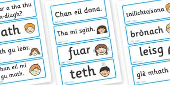 Scottish Gaelic Words - 20