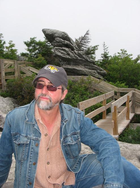 RG on the Rocky Ridge hike - Blue Ridge - NC - July 2011 - 2