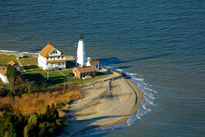 Cove Point Lighthouse - 1